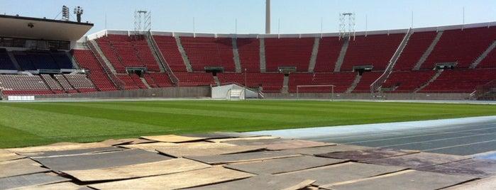 Estadio Nacional Julio Martínez Prádanos is one of Arte, Cultura & Entretenimiento.
