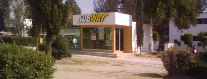 Subway is one of Puebla ☺.