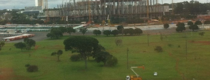 Estádio Nacional de Brasília Mané Garrincha is one of Brasília.