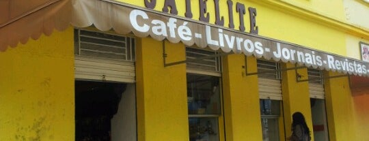 Satélite Livraria e Cafeteria. is one of São Sebastião.