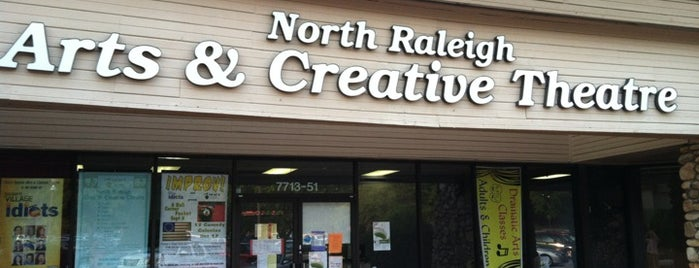 North Raleigh Arts and Creative Theatre (NRACT) is one of Raleigh.