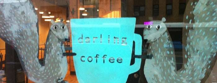 Darling Coffee is one of ~*New York City*~.