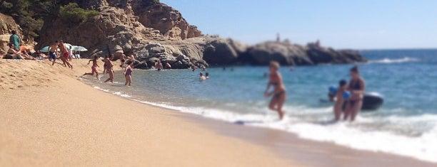 Cala Rovira is one of Playas de España: Cataluña.