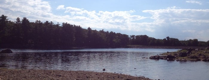 Walden Pond is one of The Hub.