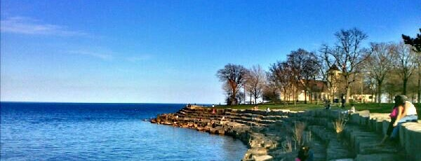 Promontory Point Park is one of Chicago.