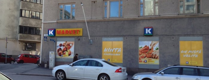 K-market Töölöntori is one of Sean : понравившиеся места.