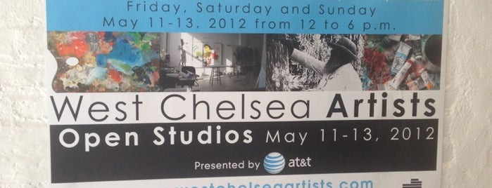 551 West Chelsea Arts is one of IrmaZandlさんのお気に入りスポット.