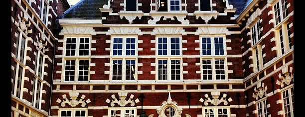 UvA Oost-Indisch Huis/Bushuis is one of Monuments ❌❌❌.