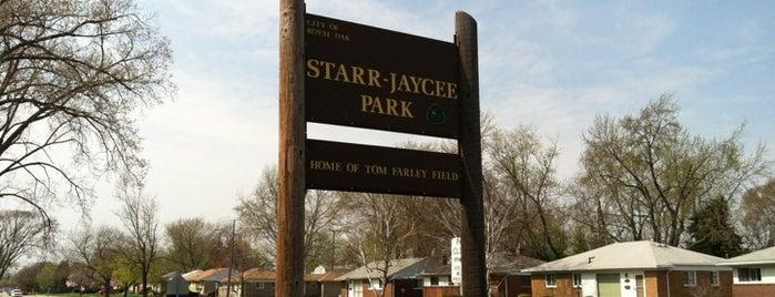 Starr Jaycee Park is one of Richard'ın Kaydettiği Mekanlar.