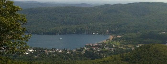 Prospect Mountain - The Summit is one of สถานที่ที่บันทึกไว้ของ Nicholas.