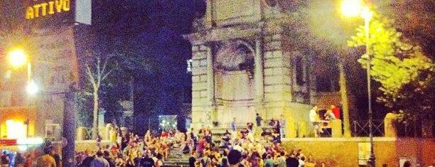 Piazza Trilussa is one of Mediterranean Trip.