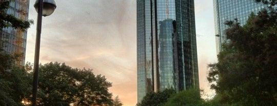 Taunusanlage is one of Foursquare Best Of Frankfurt: Parks und Plätze.