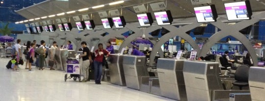 Aeropuerto Suvarnabhumi (BKK) is one of Free WiFi Airports.