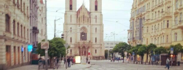 Strossmayerovo náměstí is one of StorefrontSticker #4sqCities: Prague.