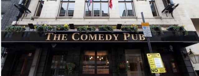 The Comedy Pub is one of Pubs & Bars.