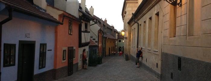 Goldenes Gässchen is one of StorefrontSticker #4sqCities: Prague.