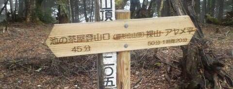 櫛形山 山頂 is one of 日本夜景遺産.