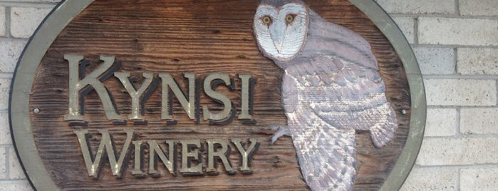 Kynsi Winery is one of SLO Wine Country.