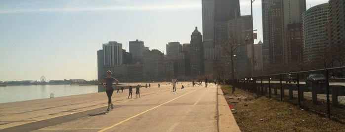 Chicago Lakefront Trail is one of vacation hot spots.