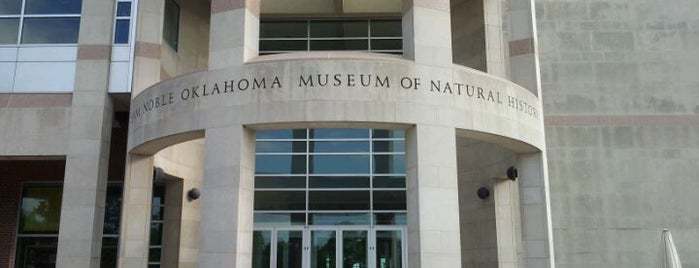 Sam Noble Oklahoma Museum of Natural History is one of Native American Cultures, Lands, & History.