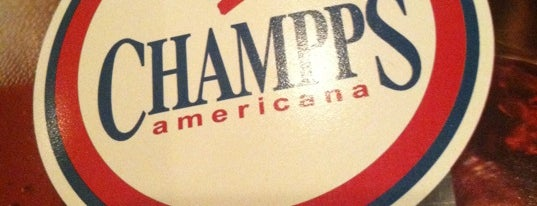 Champps Americana is one of Official Blackhawks Bars.