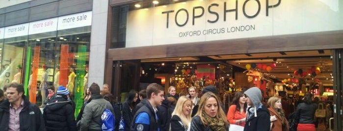 Topshop is one of London's Must-See Attractions.
