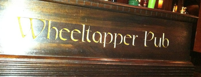 The Wheeltapper Pub is one of Manhattan bars.