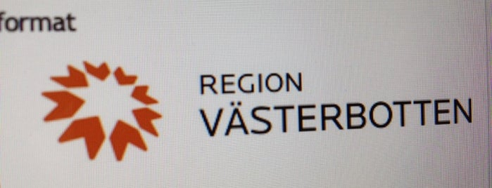 Region Västerbotten is one of Umeå.