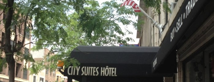 City Suites Hotel is one of Reside's Favorites: Hotels & Transportation.