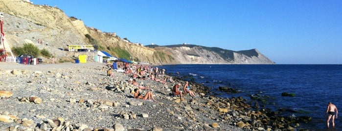 Stony Beach is one of Анапа-Геленджик.