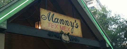 Manny's Uptown Tex-Mex Restaurante is one of สถานที่ที่ Tammy ถูกใจ.