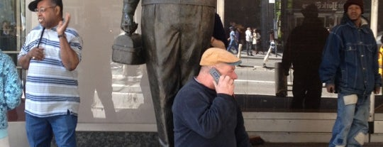 Ralph Kramden Statue is one of NYC Arts.