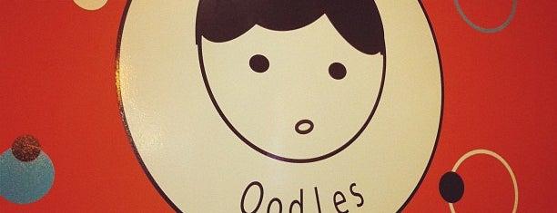 Oodles Noodles & Dumpling Bar is one of Andrew 님이 저장한 장소.