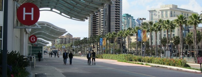 San Diego Convention Center is one of San Diego's 59-Mile Scenic Drive.