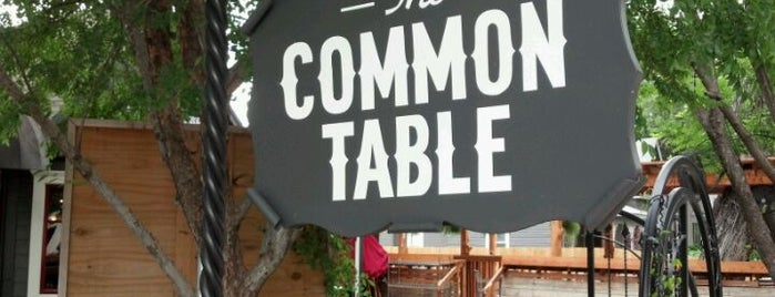 The Common Table is one of Dallas Favorites.