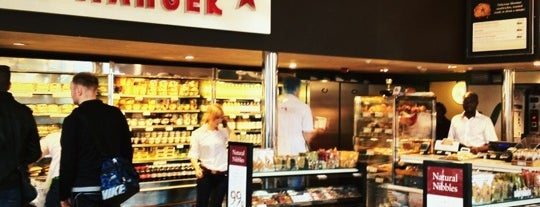 Pret A Manger is one of London, UK.