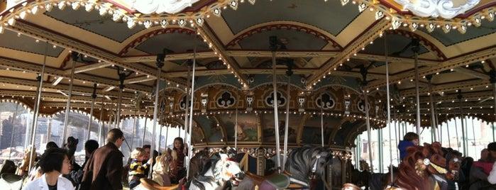 Jane's Carousel is one of Brooklyn.