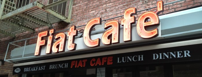 "Fiat Café is one of ""Oh, I love New York""."