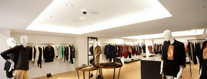 """Sandro is one of Our """"Young Guns"""" Favorite Shops in NYC."""