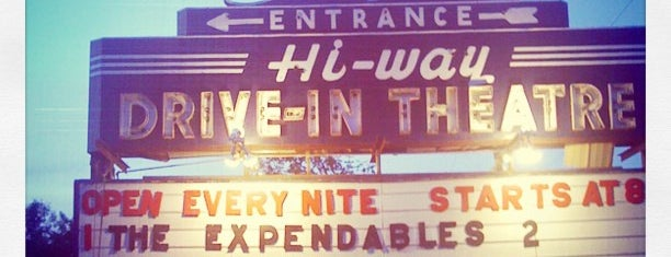 Hi-Way Drive In is one of TAKE ME TO THE DRIVE-IN, BABY.