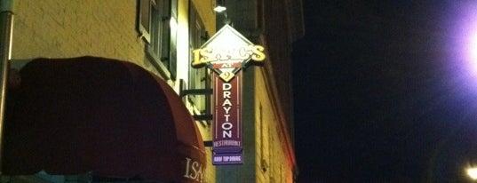 Isaac's on Drayton is one of Savannah.