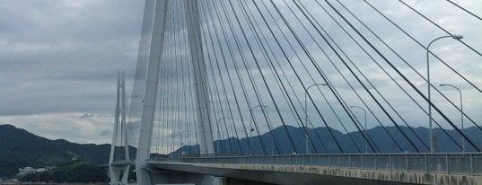 多々羅大橋 is one of 西瀬戸自動車道(しまなみ海道).