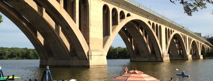 Key Bridge Boathouse is one of DC.