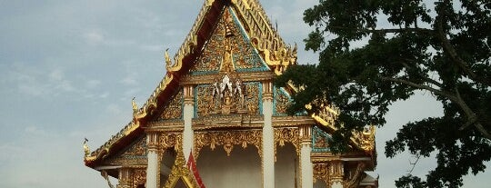 Wat Chaithararam (Wat Chalong) is one of Locais curtidos por Chuck.