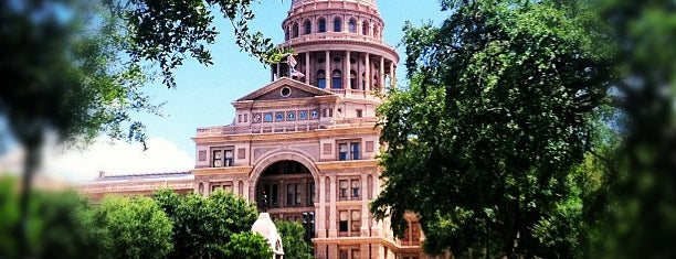 Capitolio de Texas is one of Great Spots for Cyclists in Austin.