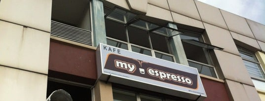 MyEspresso Cafe is one of Kopi Places.