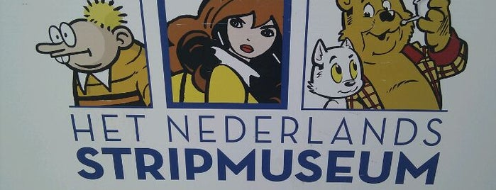 Het Nederlands Stripmuseum is one of Museums that accept museum card.