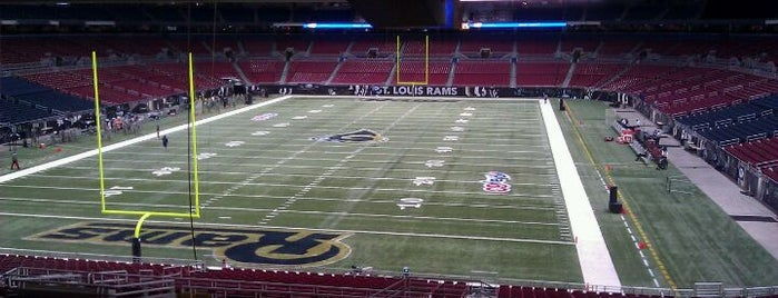 Edward Jones Dome is one of Great Sport Locations Across United States.