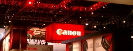 Canon CES Booth #13304 is one of barry.