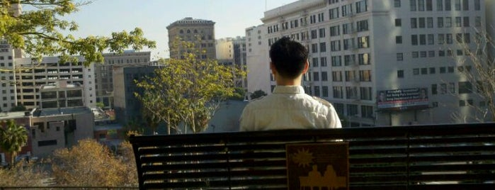 Tom Hansen's Bench (500 Days of Summer) is one of Los Angeles, CA.